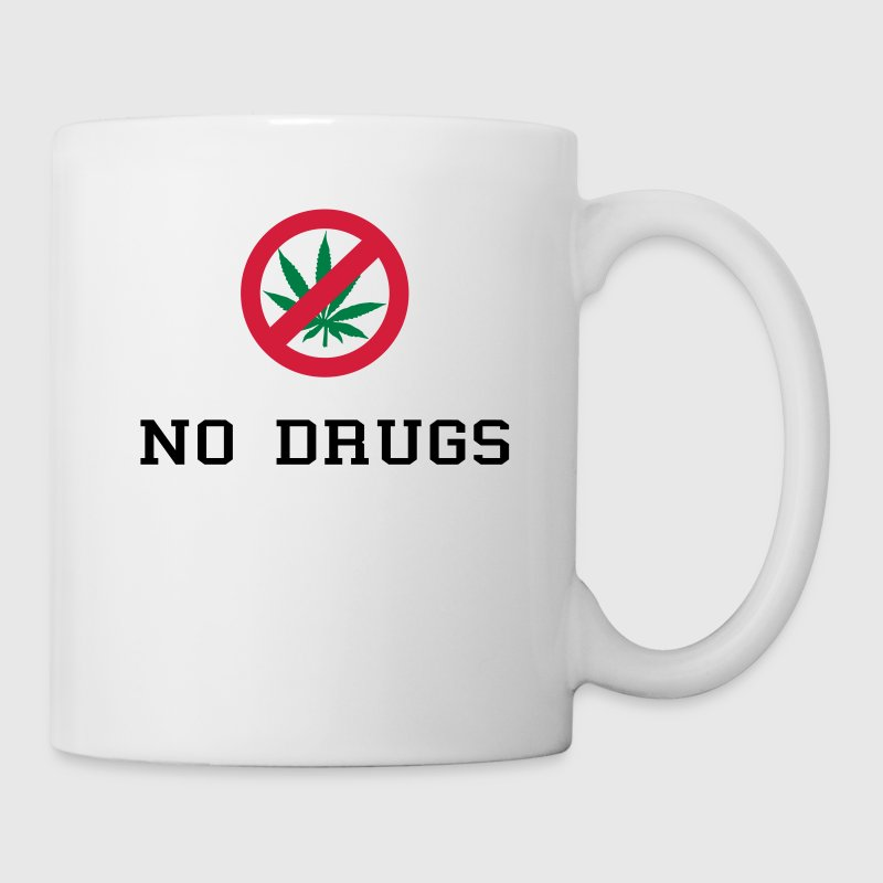 No Drugs / Say no to drugs / Cannabis / Drogen Bottles & Mugs - Mug