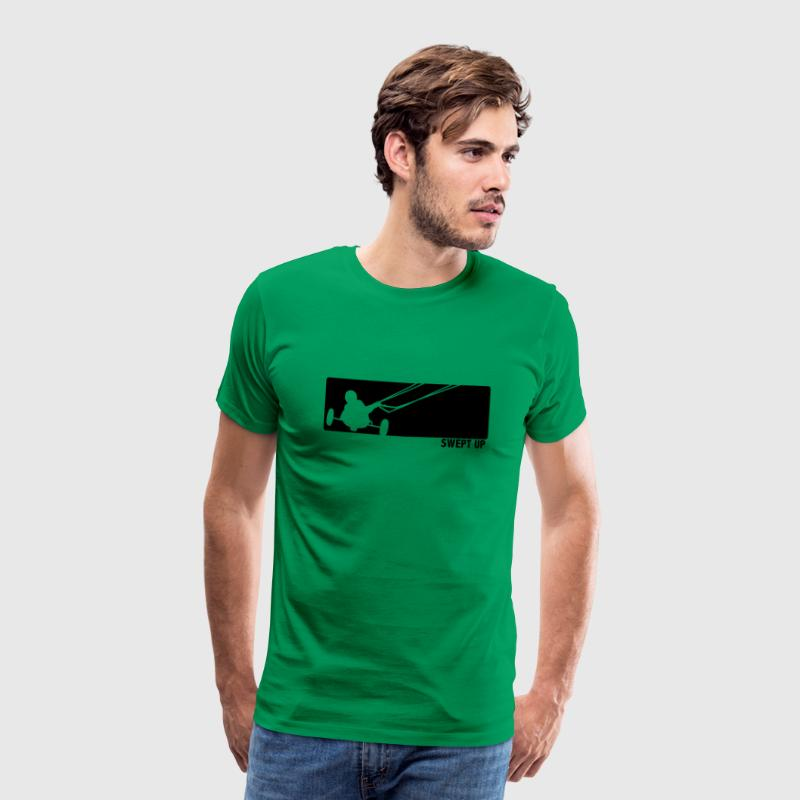 Grass green kite buggy T-Shirts - Men's Premium T-Shirt