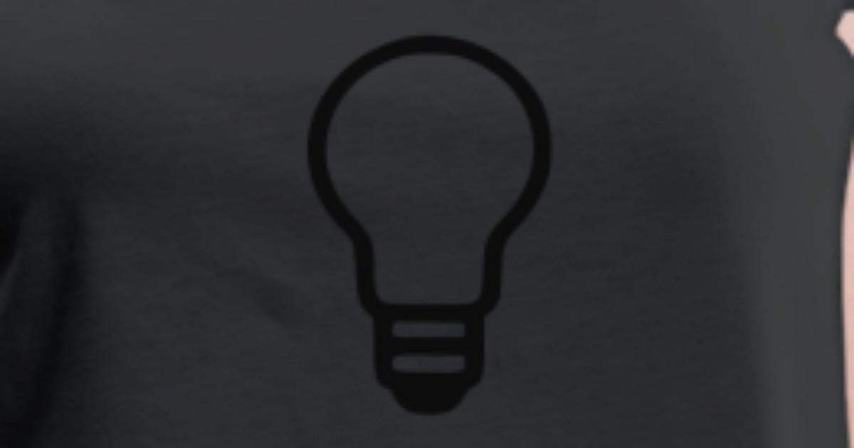 gl hbirne licht lampe t shirt spreadshirt. Black Bedroom Furniture Sets. Home Design Ideas