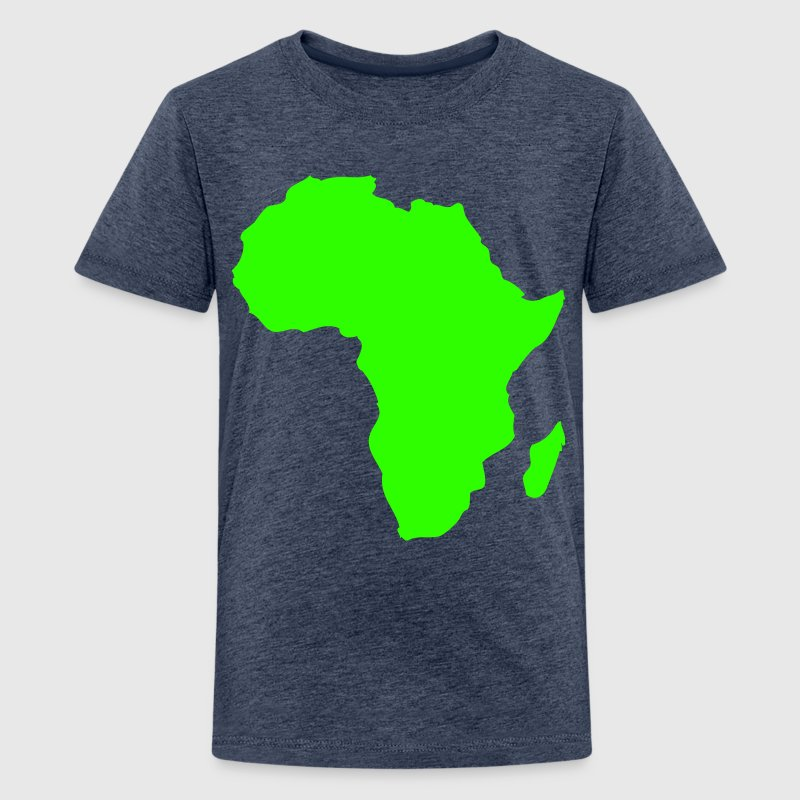 Africa, continent, Europe, Asia, America, South America, North America, Australia, north pole, South Pole, Arctic, Antarctic, Greenland, world, oldread, world ball, ocean, outlined, country, countries, geography  - Teenage Premium T-Shirt