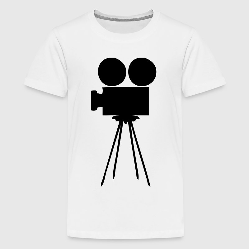 EN-Filmkamera - Teenage Premium T-Shirt