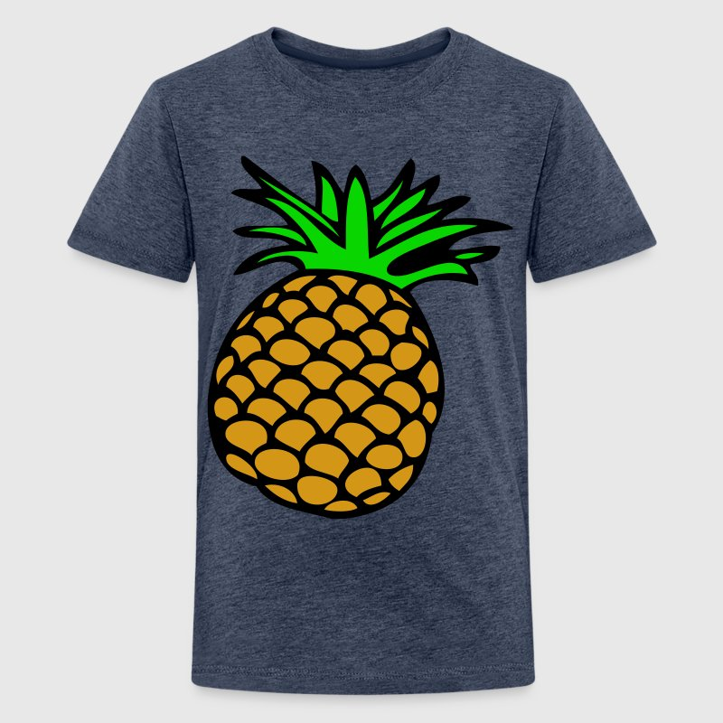 EN-Ananas - Teenage Premium T-Shirt