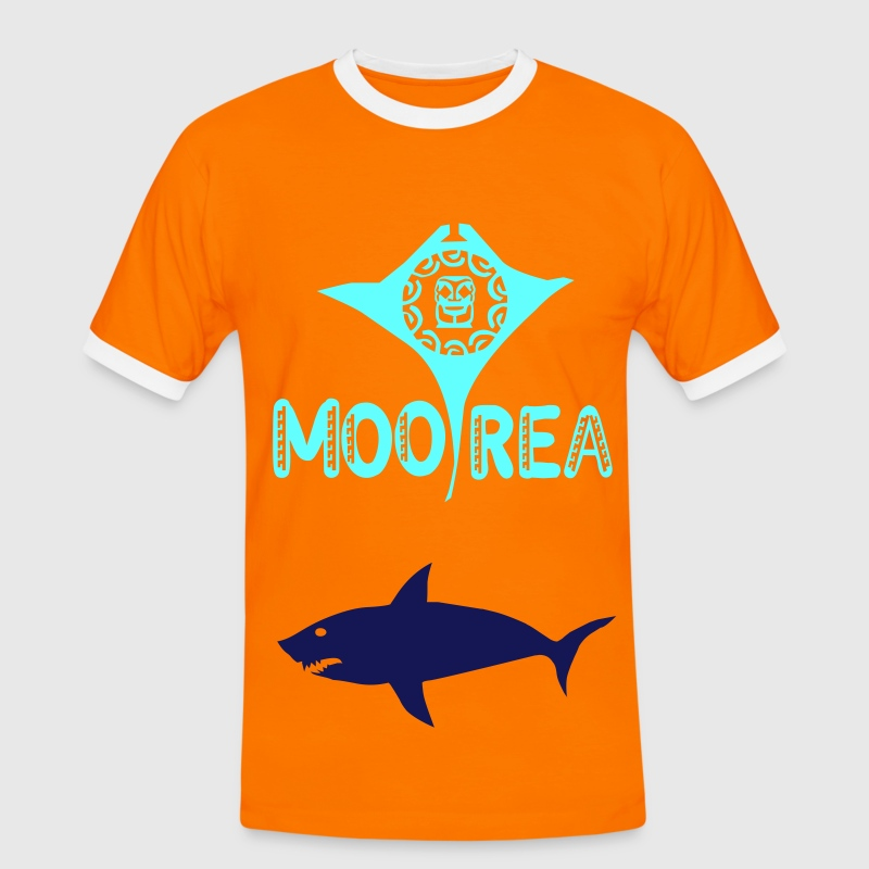 MOOREA T-shirts - Men's Ringer Shirt