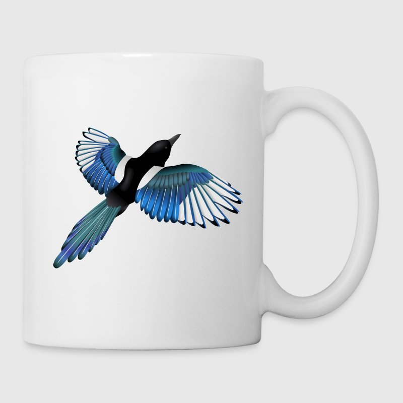 Colourful Magpie Bottles & Mugs - Mug