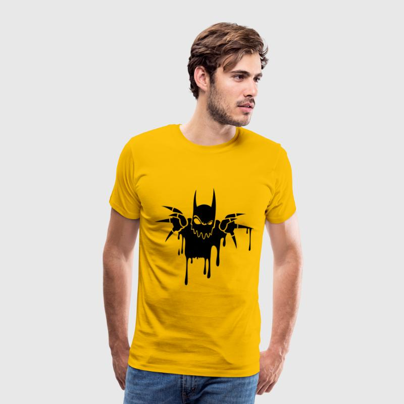 Gelb Devil by Won (ABC) T-Shirts - Männer Premium T-Shirt