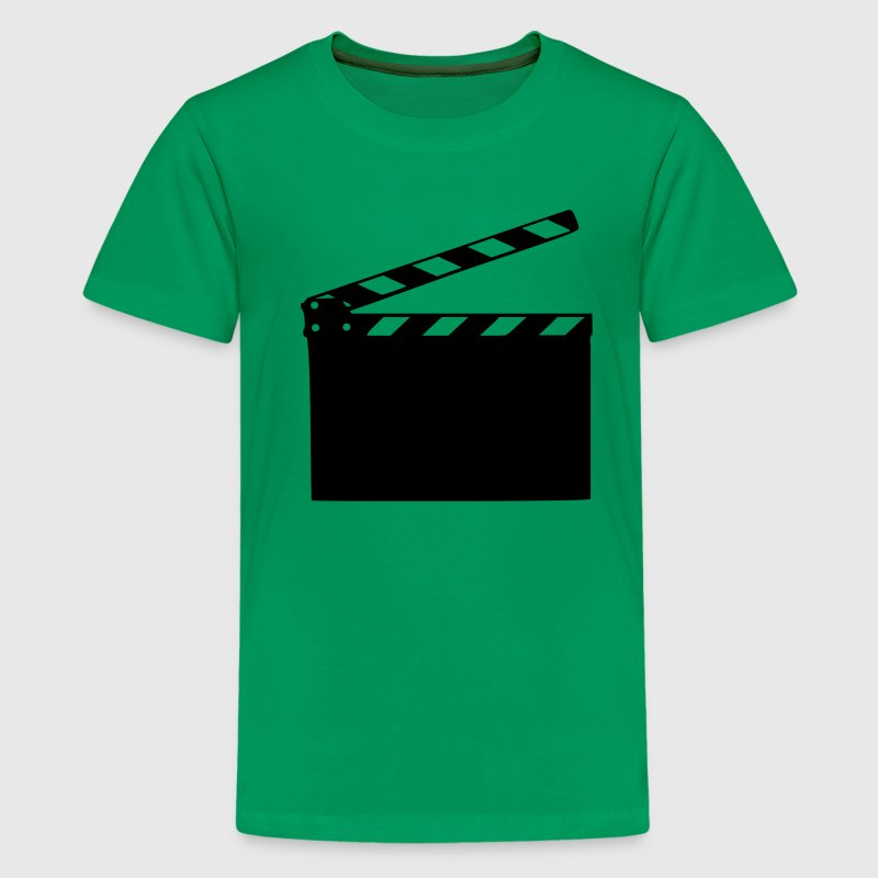 Kelly green Film - Klappe Kinder T-Shirts - Teenager Premium T-Shirt
