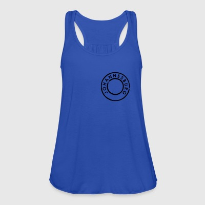 Diva blue Johannesburg Men's T-Shirts - Women's Tank Top by Bella