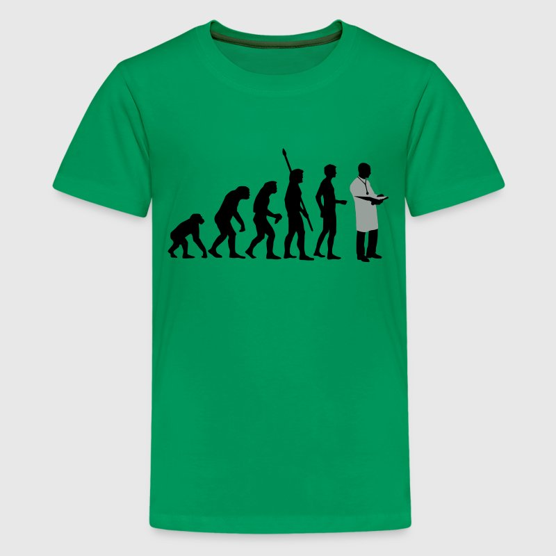 evolution_arzt_b_2c T-shirts - Teenager premium T-shirt