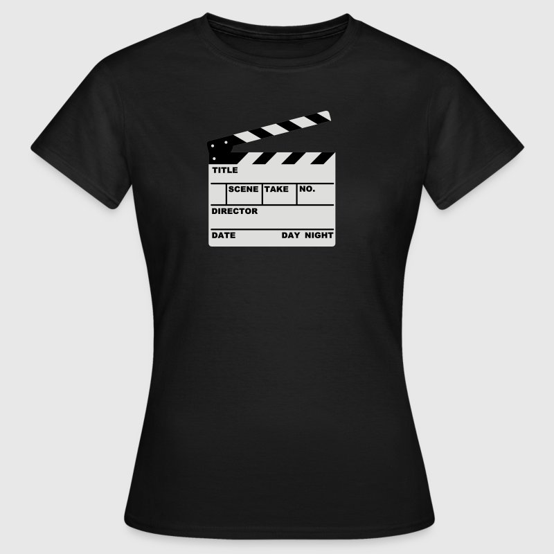 clapperboard - Women's T-Shirt