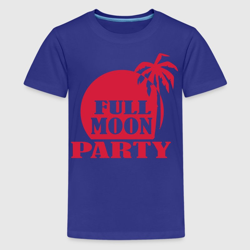 Full Moon Party - Camiseta premium adolescente