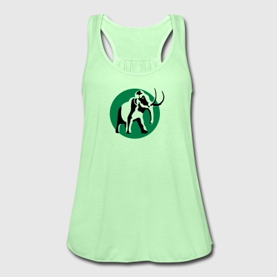 Moss green mammut_b_2c Men's T-Shirts - Women's Tank Top by Bella