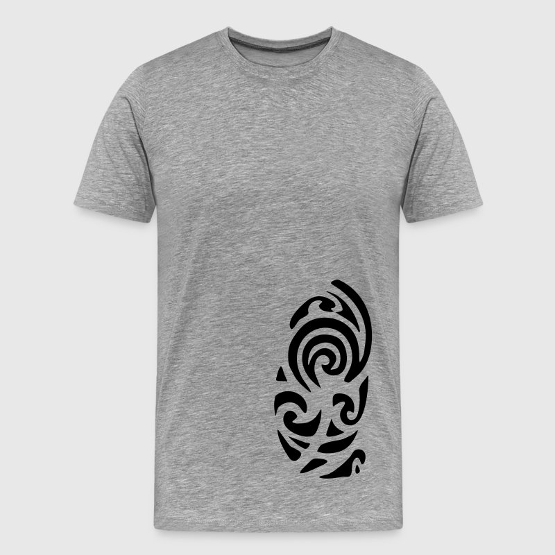 Ash Maori Tattoo Men's Tees (short-sleeved) - Men's Premium T-Shirt