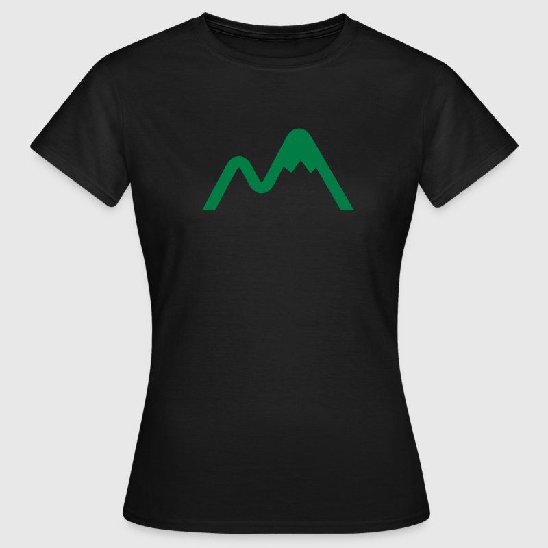 Chocolate Mountain Logo Women's T-Shirts - Women's T-Shirt