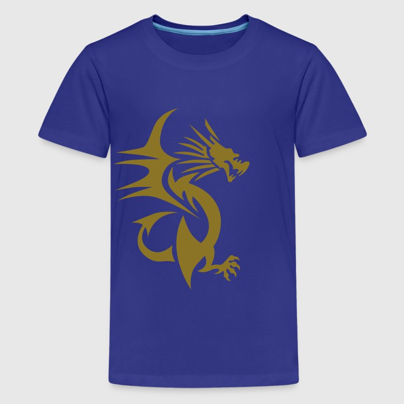 Drache Kinder T-Shirts - Teenager Premium T-Shirt