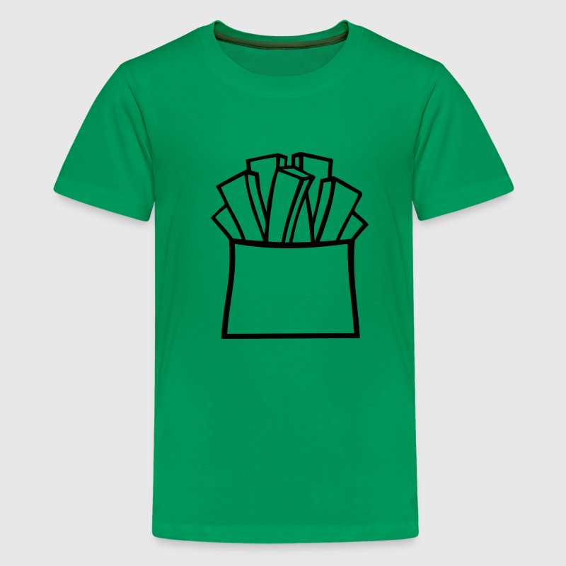 Patat friet - Teenager Premium T-shirt