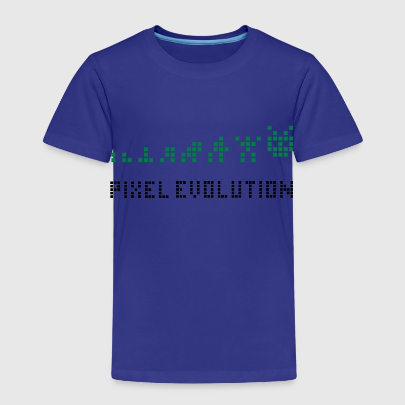 Jaune Pixel Evolution Tee shirts Enfants - T-shirt Premium Enfant