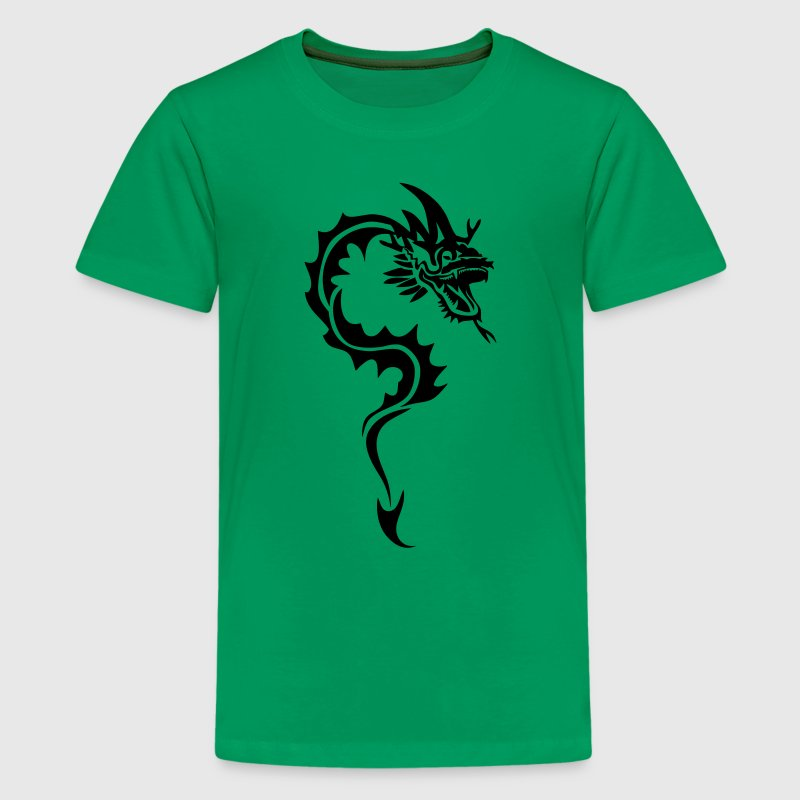 dragon tribal tatouage1 Tee shirts Enfants - T-shirt Premium Ado