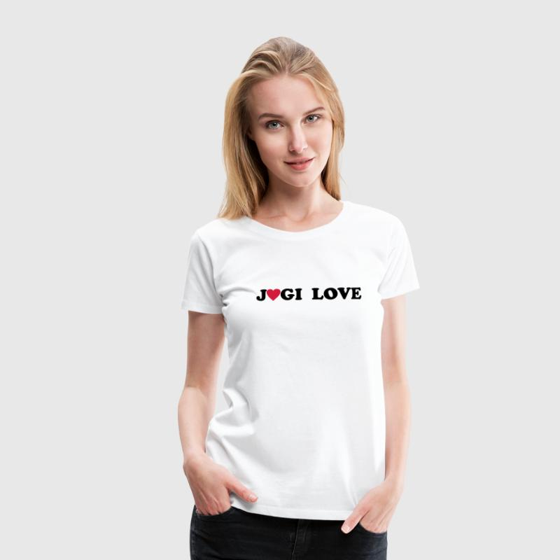 Jogi Love T-Shirts - Frauen Premium T-Shirt