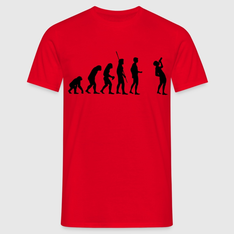 Drinking Evolution 2.0  T-Shirts - Men's T-Shirt
