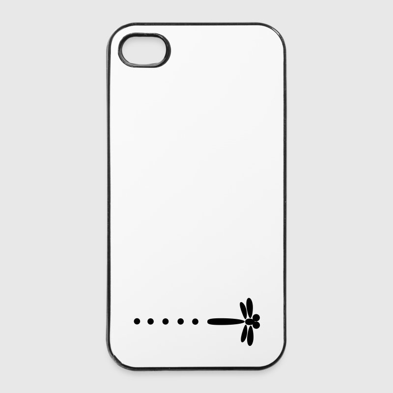 Libellule Nicky L. - Coque rigide iPhone 4/4s