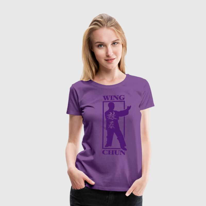 Wing Chun Damen Shirt - Frauen Premium T-Shirt