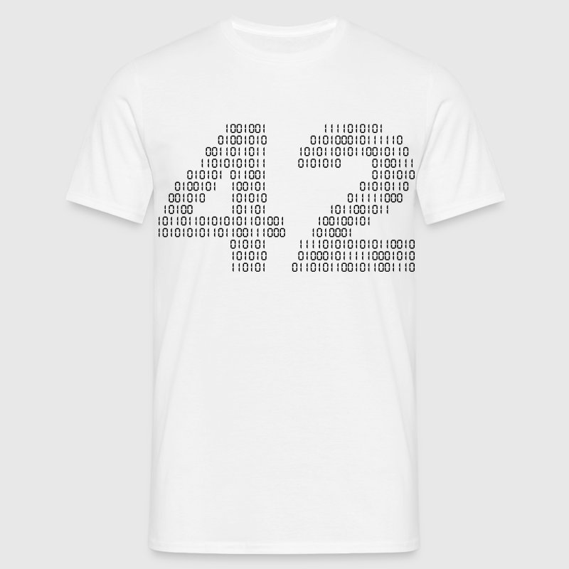 42 (The hitchhiker's guide to the galaxy) - Herre-T-shirt