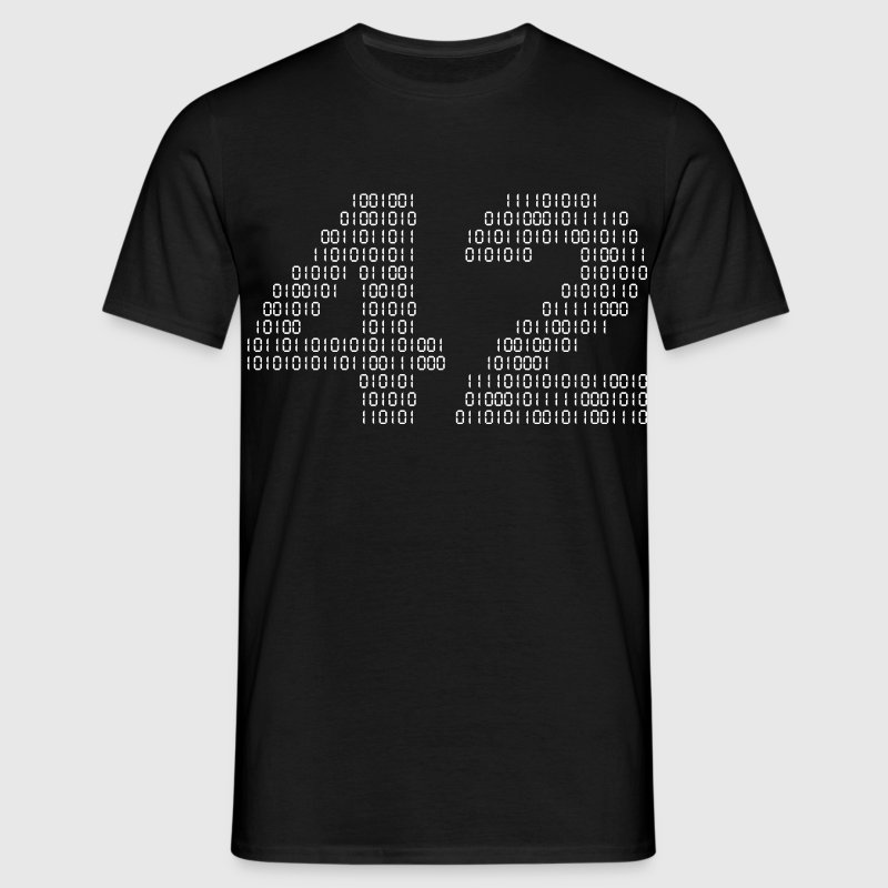 42 (The hitchhiker's guide to the galaxy) - T-shirt herr