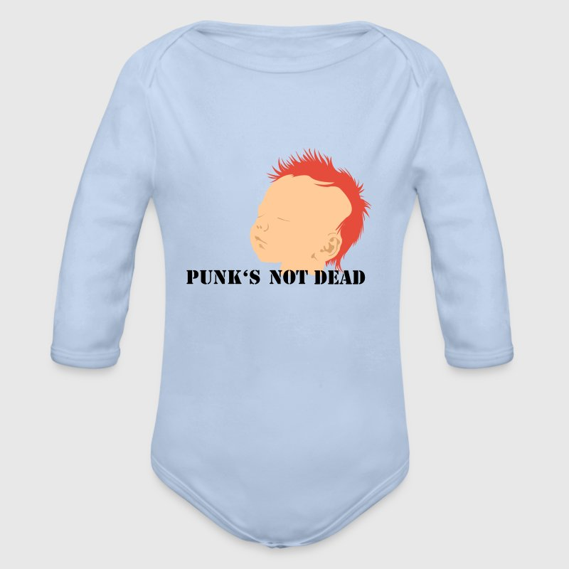 Punk is not dead - Body bébé bio manches longues