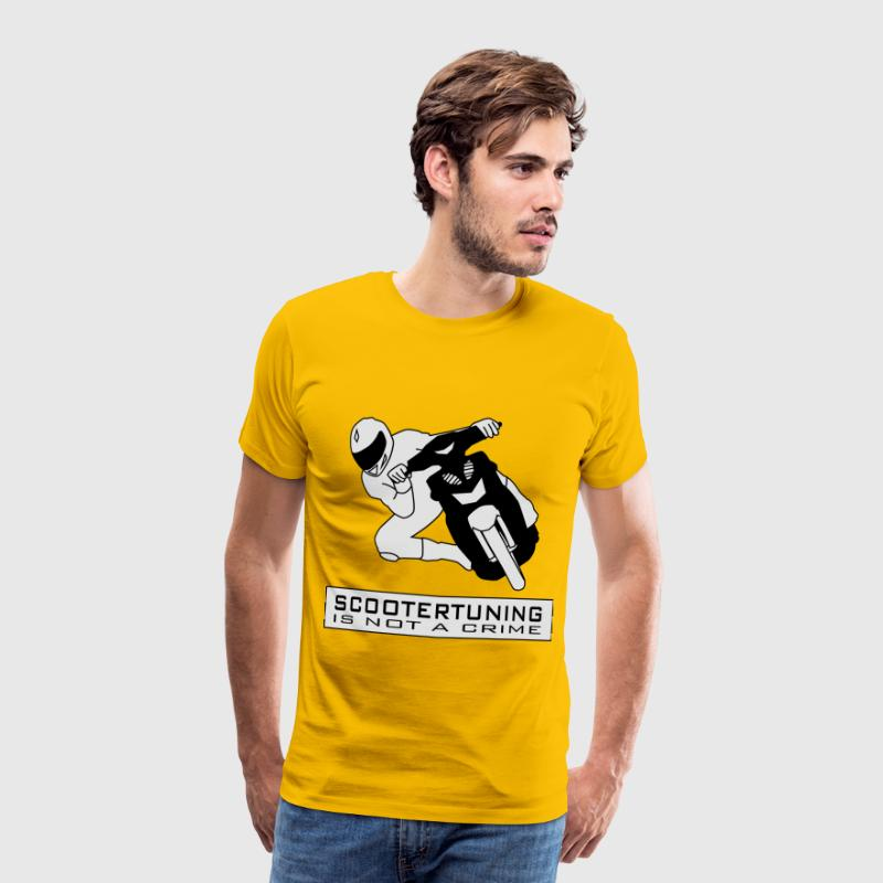 Scootertuning is not a crime HQ T-Shirts - Männer Premium T-Shirt
