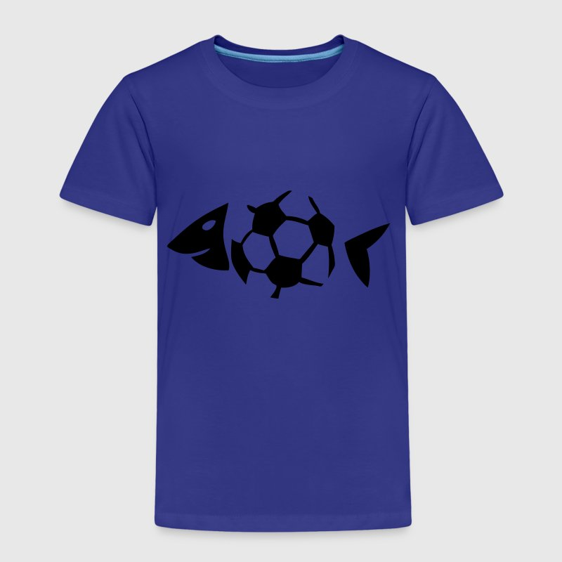 foot soccer arete poisson fish ballon Tee shirts - T-shirt Premium Enfant