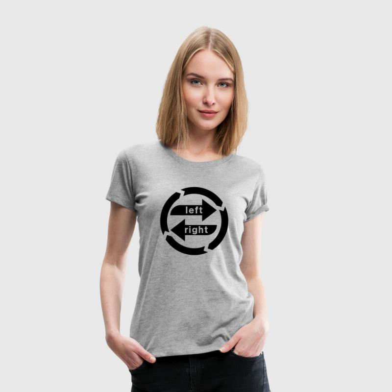 Rechts-Links-Schwäche Shirt for Girls - Frauen Premium T-Shirt