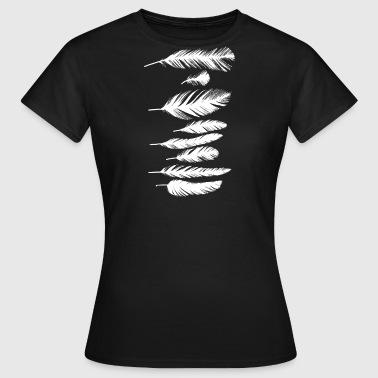 suchbegriff 39 wei e feder 39 t shirts online bestellen spreadshirt. Black Bedroom Furniture Sets. Home Design Ideas