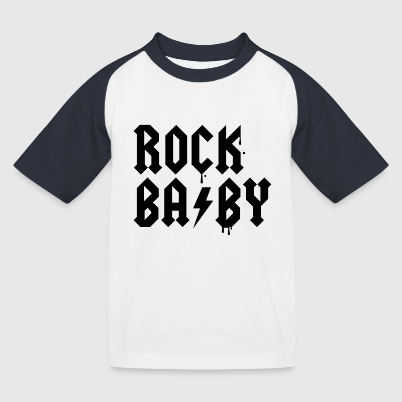 Rock that swag newborn baby graffiti birth style Shirts - Kids' Baseball T-Shirt