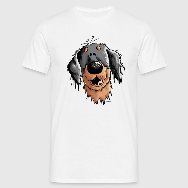 Hovawart – Hovi – Dog – Shirt Design T-Shirts - Men's T-Shirt
