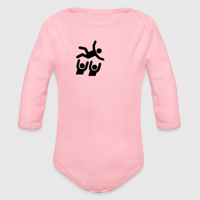 Stage Diving T-Shirts - Organic Longsleeve Baby Bodysuit