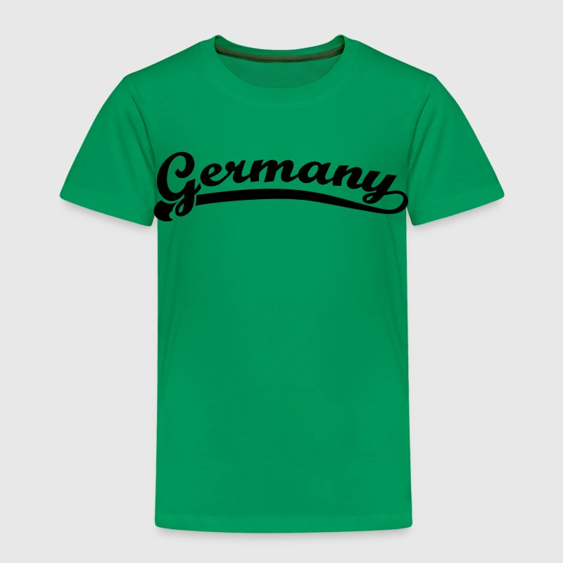 Germany Retro Schrift - Kinder Premium T-Shirt
