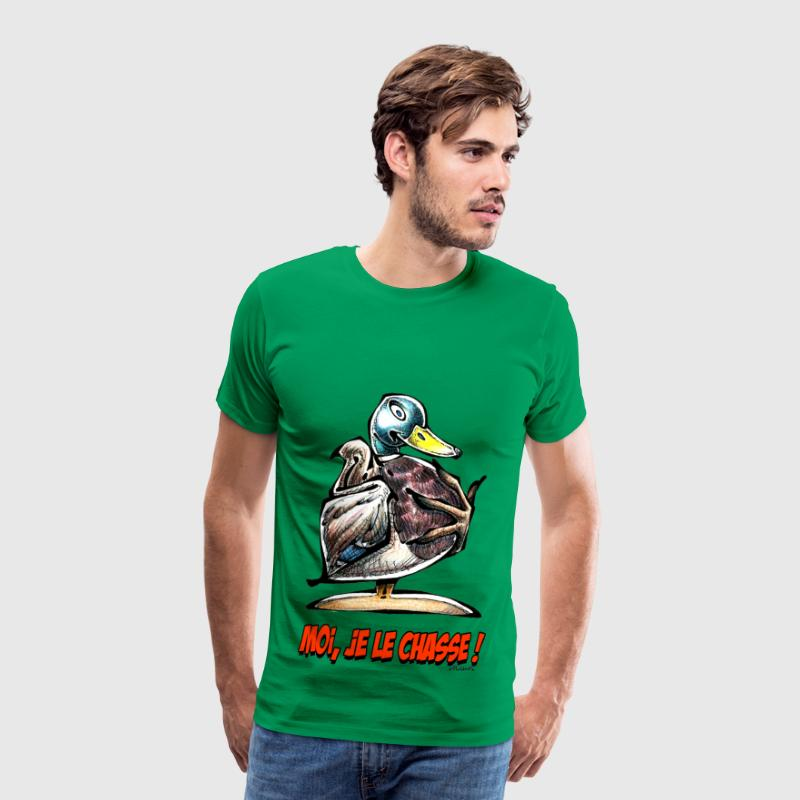 CANARD COLVERT Moi Je Le Chasse ! Tee shirts - T-shirt Premium Homme