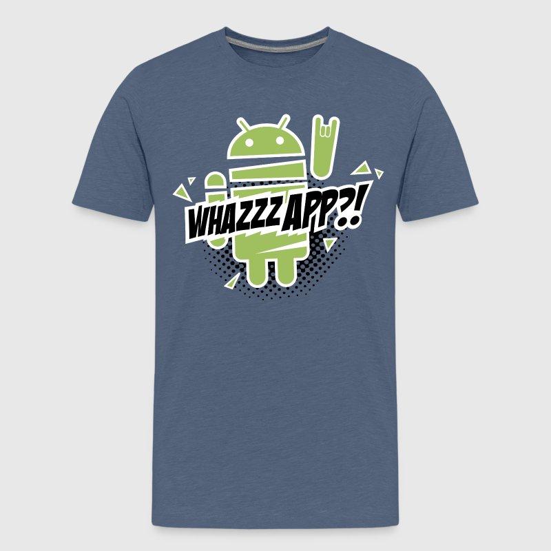 Lustig Paranoid Android rocks geek T Shirt sprüche T Shirt