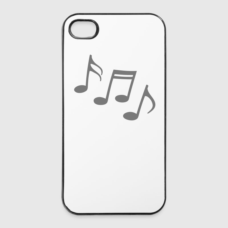 glade noter Noder Musik musikere Mobil- og tablet-covers - iPhone 4/4s Hard Case