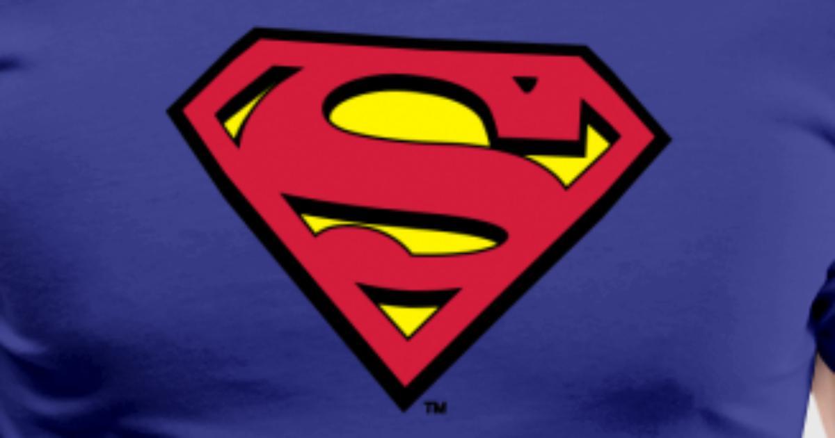 tee shirt tee shirt pour hommes superman s shield en flex spreadshirt. Black Bedroom Furniture Sets. Home Design Ideas
