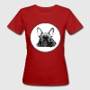 sleepy bullie puppy - Frauen Bio-T-Shirt