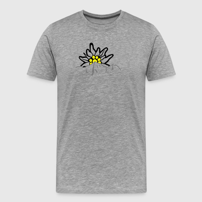 Ortler Ortles with Edelweiss T-Shirts - Men's Premium T-Shirt