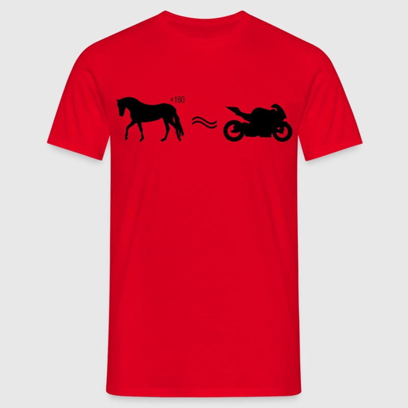 Moto cheval  Tee shirts - T-shirt Homme