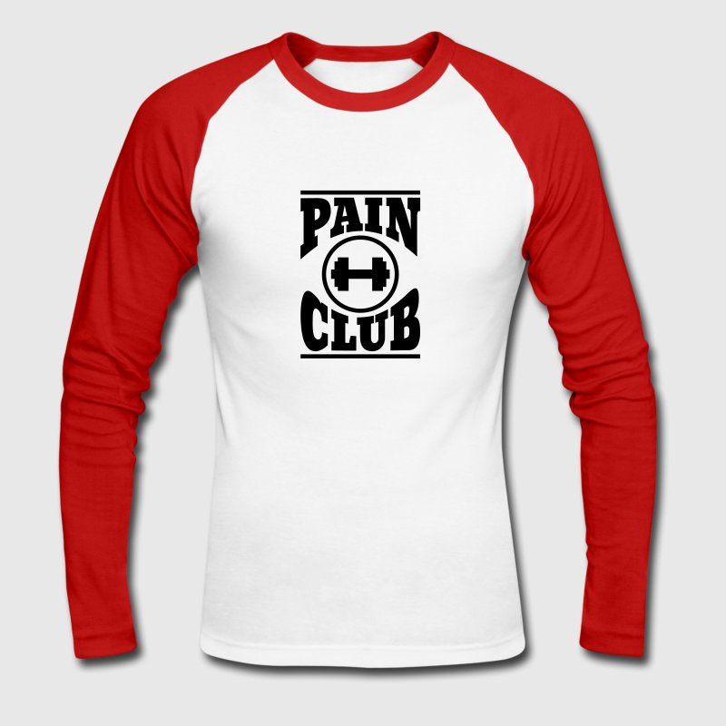 Club de fitness Manches longues - T-shirt baseball manches longues Homme