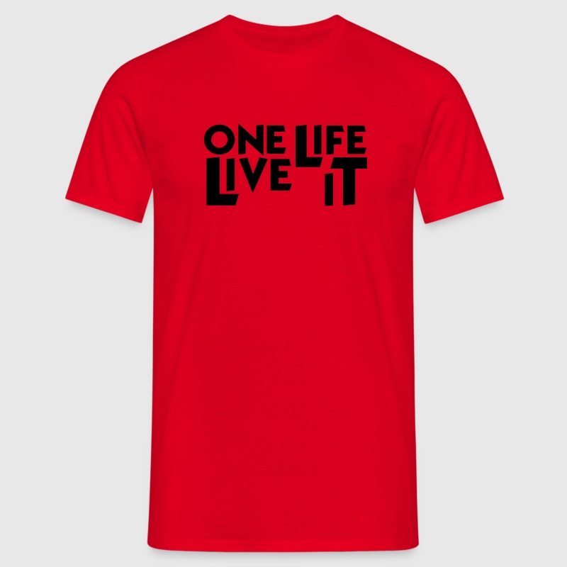 4x4 One Life Live it Landy  T-Shirt - Männer T-Shirt