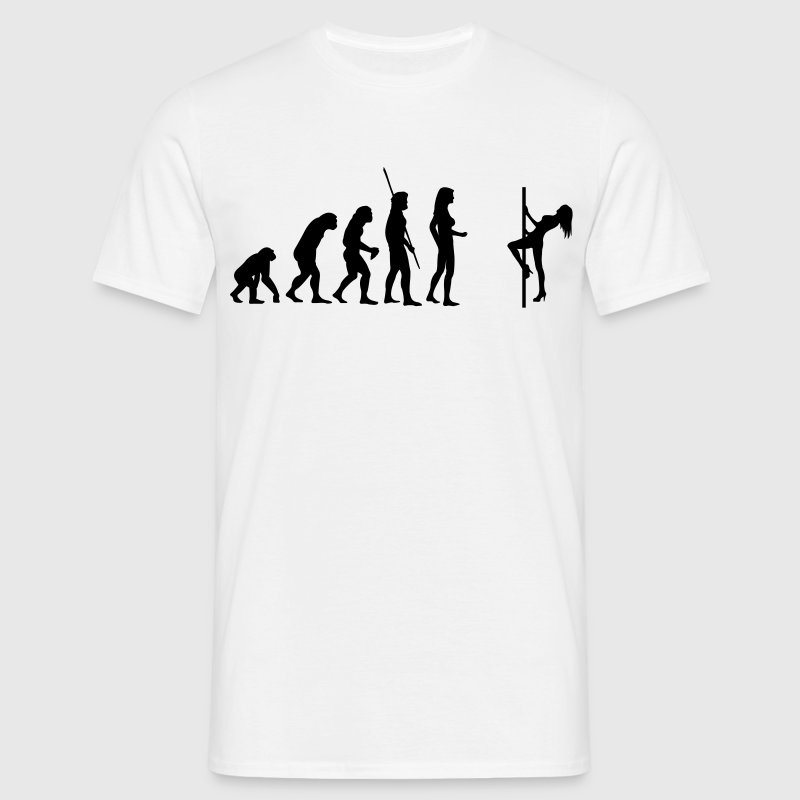 Table Dance Evolution  Tee shirts - T-shirt Homme