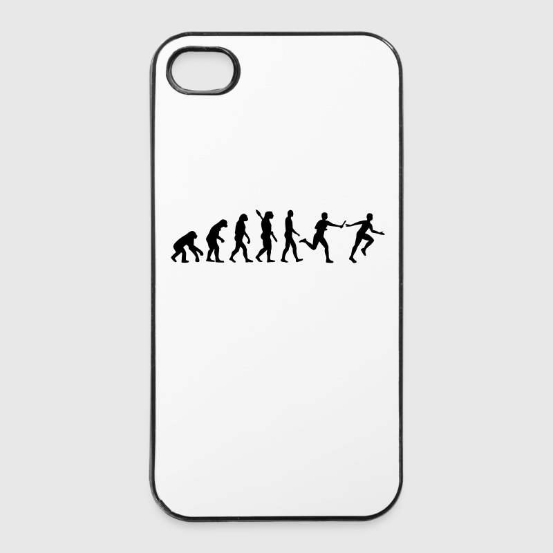 Evolution Staffellauf Handy & Tablet Hüllen - iPhone 4/4s Hard Case