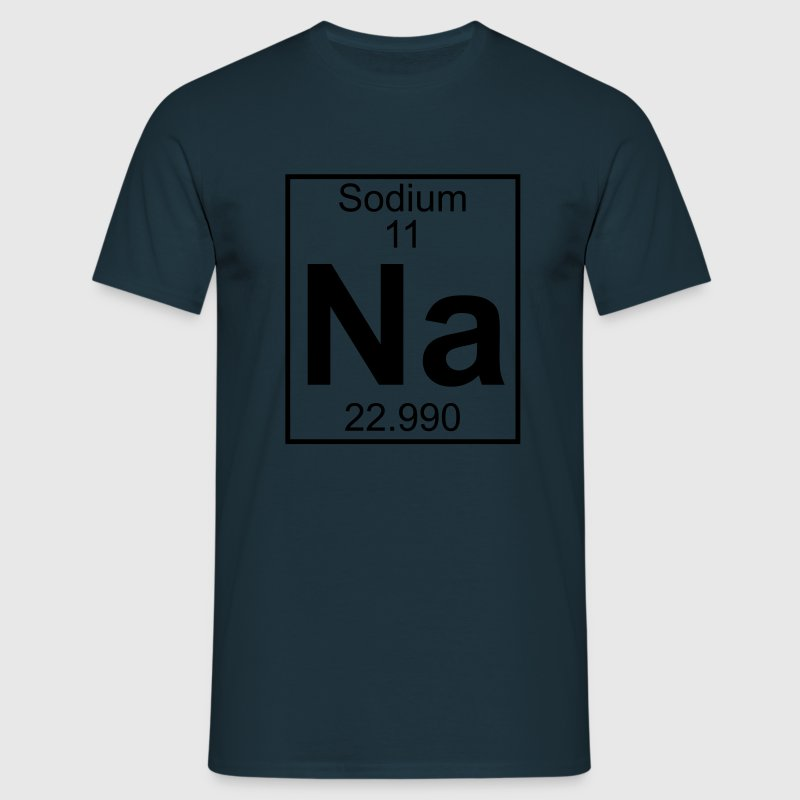 Sodium (Na) (element 11) - Men's T-Shirt