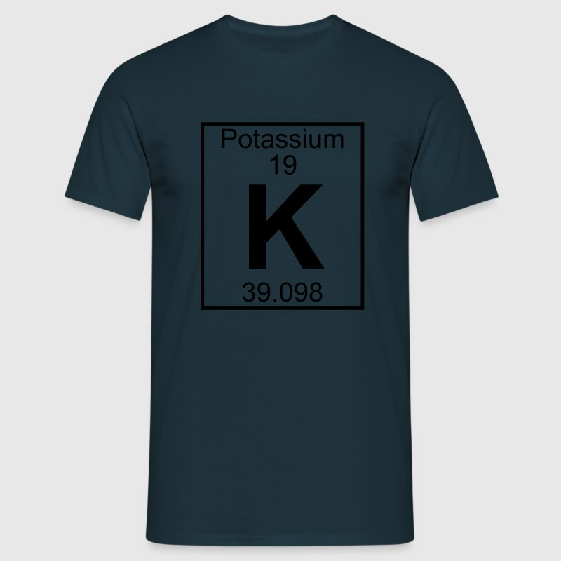 Potassium (K) (element 19) - Men's T-Shirt