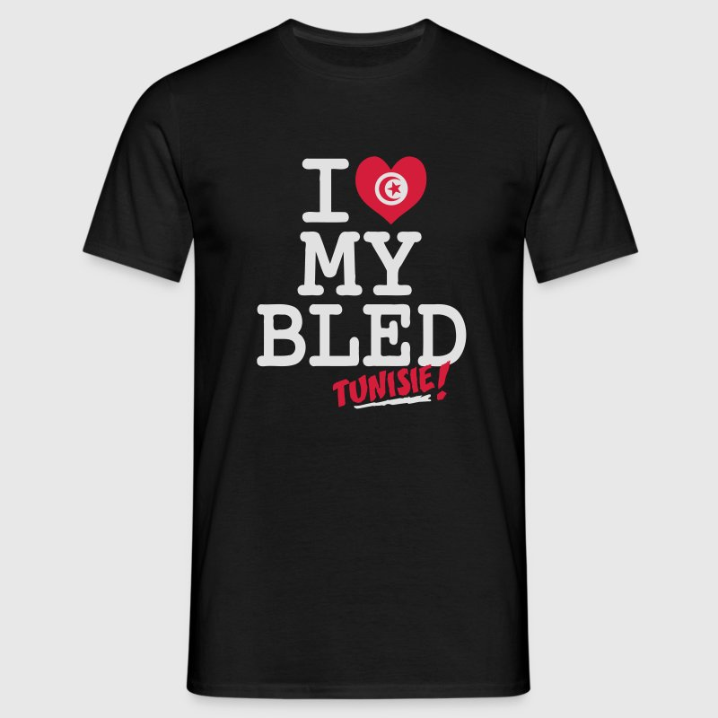 I love MY BLED Tunisie Tee shirts - T-shirt Homme